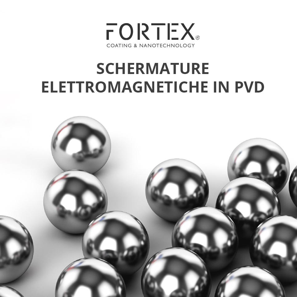 schermature elettromagnetiche con PVD