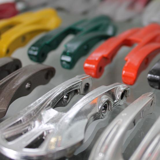 Verniciatura a spruzzo acciaio